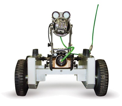Robot visione frontale