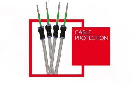 Minipipe for laying fibre optic