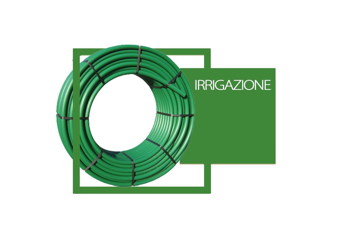 Tubi in PE MD BD per irrigazione