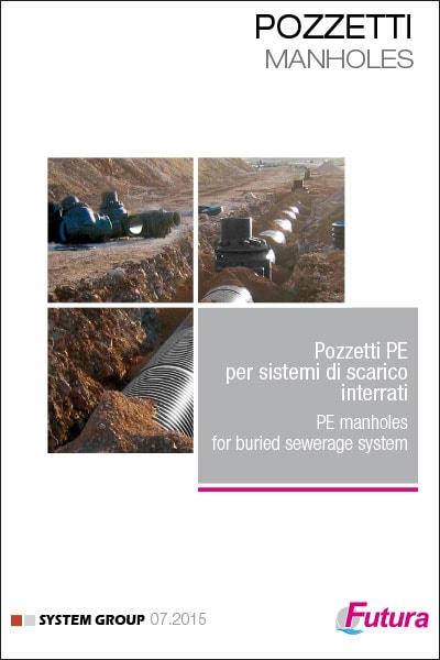Pozzetti PE per sistemi di scarico interrati