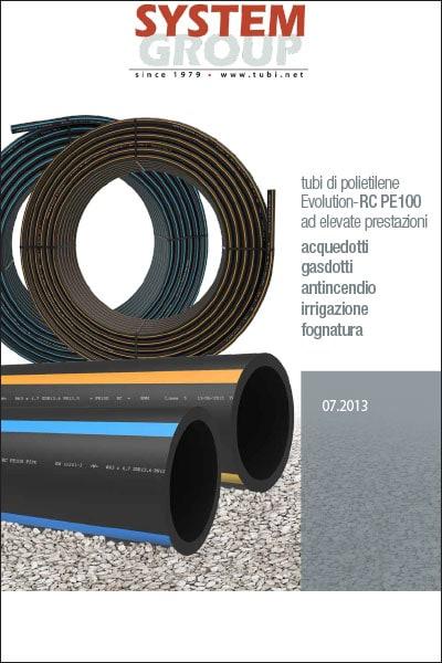 tubi di polietilene Evolution-RC PE100 ad elevate prestazioni