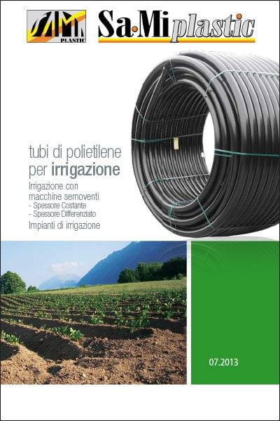 Tubo polietilene per irrigazione