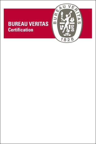 Certificato BureauVeritas