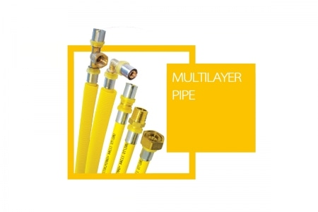 Multilayer Pipe System For Gas