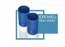 PVC PIPE MICRO SLOTEDFESSURATI IDRO WELL