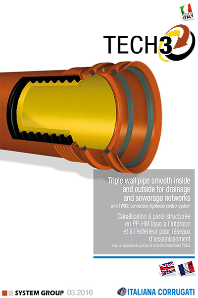 Triple Wall Structured Pipe In Pp Catalogues Italiana