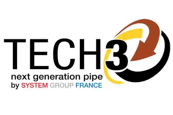 TUBE TRIPLE PAROI STRUCTURÈ EN PP TECH3