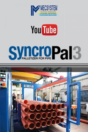 SYNCROPLA3 PALLETIZER FOR PIPE