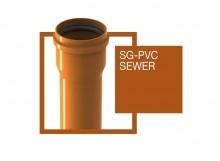 Tubo PVC liscio SG PVC SEWER
