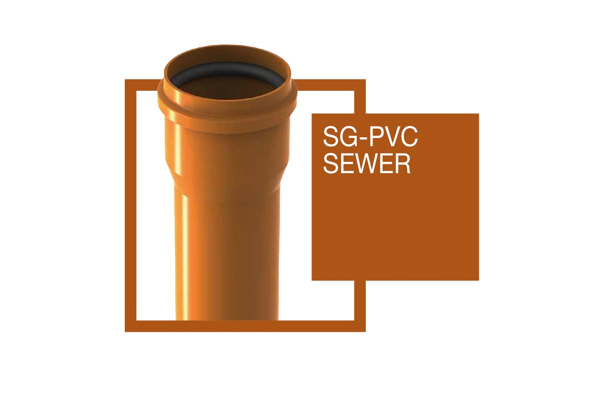 Lucsewer PVC Pipe For Sewage