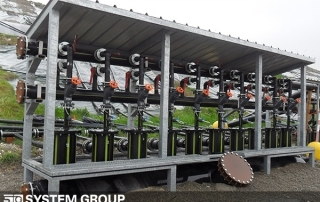 Raccolta percolati e biogas