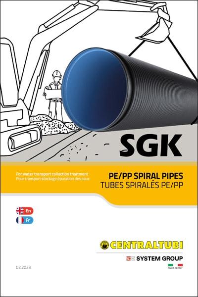 SGK PE-PP SPIRAL PIPES