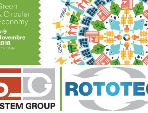 ECOMONDO 2018 Rimini – System Group – Rototec