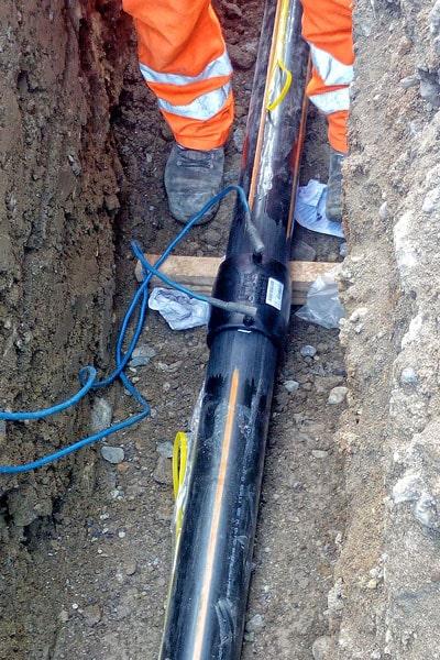 UNARETI ha scelto il PIPE TRACER per localizzare le sue Linee Gas (02)