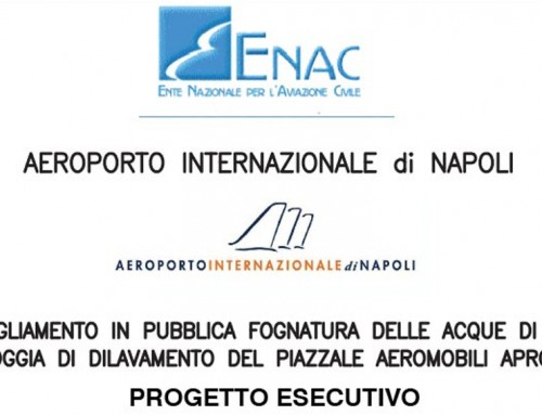 NAPLES: PUBLIC SEWERAGE – FIRST RAINWATER – AIRCRAFT SQUARE APRON2