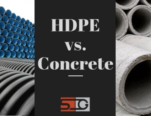 Differences between HDPE corrugated and concrete pipes