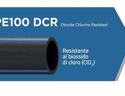 Tubazioni resistenti al Biossido di cloro