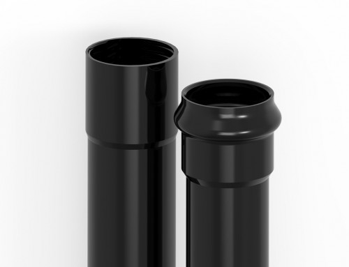 Tubes en PVC pour la protection des cables