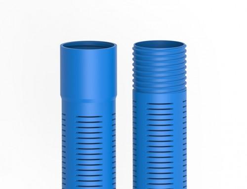 Les tuyaux en PVC fileté et crépiné pour drainage