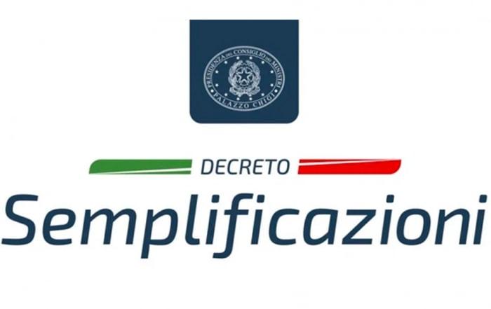 DECRETO-SEMPLIFICAZIONI