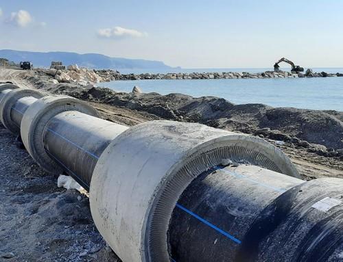 Tubazioni PE in barre da 15 Metri DN 800 per il comune di Loano (SV)
